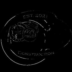 Country Family Construction Logo - Black